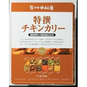 【訳あり 賞味期限間近のため大特価!】新宿中村屋 特撰チキンカリー 200g×10箱
