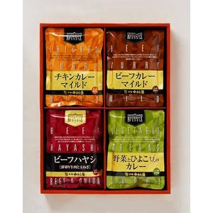 新宿中村屋 カレー&ハヤシセット (各3袋 計12袋)