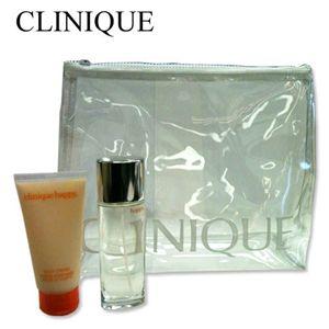CLINIQUE(クリニーク) ハッピーサマーセット (オーデパルファム50ml ボディローション75ml クリアーポーチ)