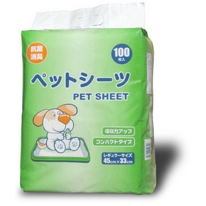 【ペットシーツ】レギュラーサイズお徳用800枚入り☆抗菌消臭、吸収力アップ、コンパクトサイズ