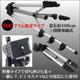 デジカメ ビデオカメラ用 水準器付き軽量アルミ三脚 - 縮小画像2