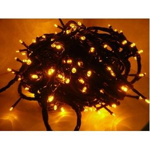 LED 300球イルミネーション クリスマスにも 連結可能 黄 - 拡大画像