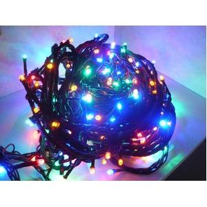 LED 500球イルミネーション クリスマスにも 防雨加工 MIX色 - 拡大画像