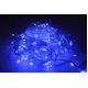 LED 300球イルミネーション クリスマスにも 連結可能 ブルー 青色 透明線 - 縮小画像1