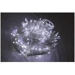 LED 300球イルミネーション クリスマスにも 連結可能 ホワイト透明線