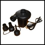 プール 空気入れ 3種類のノズル 電動エアポンプ