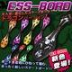 スケボー/ESSBoard/エスボード 【ドラゴンバージョン】 80mmハードウィール 最新型 ブラック(黒)