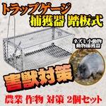小動物 動物捕獲器 害獣 キャッチャー 農業 作物 対策 2個セット