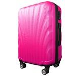 スーツケース/キャリーバッグ 【Sサイズ/小型1~3日】 機内可(機内持ち込み) TSA搭載 軽量 ファスナー ショッキングピンク