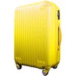 スーツケース/キャリーバッグ 【Sサイズ/小型1~3日】 機内可(機内持ち込み) TSA搭載 軽量 ファスナー イエロー(黄)