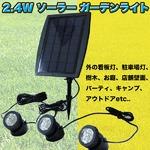 ソーラーガーデンライト-太陽光-LED