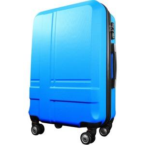 スーツケース 小型1-3日用 Sサイズ キャリーケース 超軽量 TSAロック搭載 大容量 ダブルファスナー 8輪キャリーバッグ 頑丈 人気色 ブルー