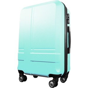 スーツケース 大型7-14日用 Lサイズ キャリーケース 超軽量 TSAロック搭載 大容量 ダブルファスナー 8輪キャリーバッグ 頑丈 人気色 グリーン