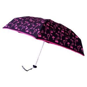 Guy de Jean(ギィ・ド・ジャン) ポーチ付折りたたみ傘 MINI MATIC ピンク