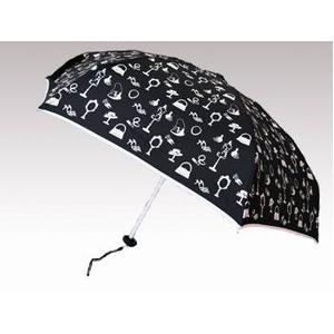 Guy de Jean(ギィ・ド・ジャン) ポーチ付折りたたみ傘 MINI MATIC ホワイト