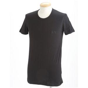 D&G(ディー&ジー) Tシャツ(2枚セット) /ブラック&イエロー XXL