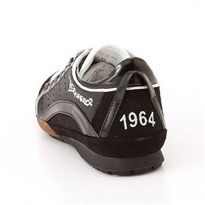 DSQUARED2(ディースクエアード2) レザー スニーカー SN410551【A】ブラック41の写真3