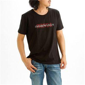 EMPORIO ARMANI(エンポリオ アルマーニ) ロゴプリントTシャツ 211067-0S454/【A】ブラック54