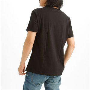 EMPORIO ARMANI(エンポリオ アルマーニ) ロゴプリントTシャツ 211067-0S454/【A】ブラック50画像2