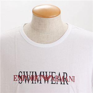 EMPORIO ARMANI(エンポリオ アルマーニ) ロゴプリントTシャツ 211067-0S454/【A】ホワイト50画像2