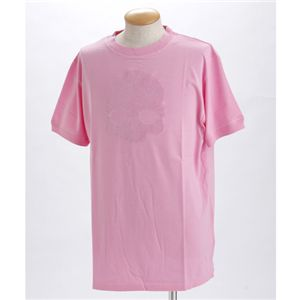 HYDROGEN(ハイドロゲン) ユニセックス プリント Tシャツ 0B2032 ピンクEUサイズXXL【送料無料】