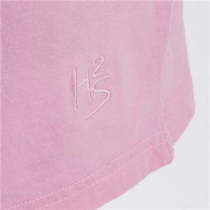 HYDROGEN(ハイドロゲン) ユニセックス プリント Tシャツ 0B2032 ピンクEUサイズL