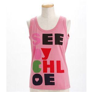 SEE BY CHLOE(シーバイクロエ) レディース タンクトップL493901-M1270 ピンクEUサイズ42