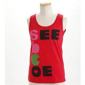 SEE BY CHLOE(シーバイクロエ) レディース タンクトップL493901-M1270 レッドEUサイズ42