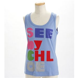SEE BY CHLOE(シーバイクロエ) レディース タンクトップL493901-M1270 ブルーEUサイズ42