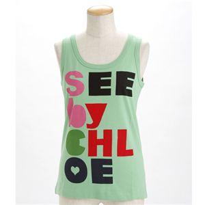SEE BY CHLOE(シーバイクロエ) レディース タンクトップL493901-M1270 グリーンEUサイズ40