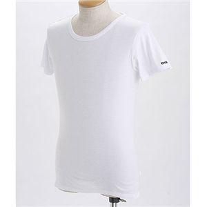 DEISEL(ディーゼル) ワンポイントTシャツ2枚セット RANDAL CG2F-00IJV 100ホワイト EUサイズS