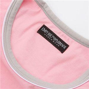 EMPORIO ARMANI(エンポリオ アルマーニ) ワンポイント 半袖Tシャツ 111027-0S502  00177/ピンク EUサイズXL画像3