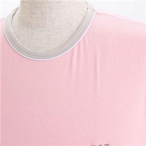 EMPORIO ARMANI(エンポリオ アルマーニ) ワンポイント 半袖Tシャツ 111027-0S502  00177/ピンク EUサイズXL画像4