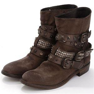 STRATEGIA(ストラテジア) ブーツ Cleo Espresso【37(23cm)】