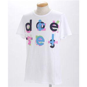 DIESEL(ディーゼル) メンズ プリントTシャツ 【B】BMOWT-OTSK CG5U-00EKWホワイトMの写真1