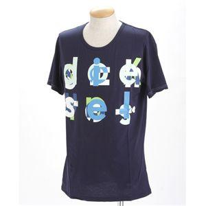 DIESEL(ディーゼル) メンズ プリントTシャツ 【B】BMOWT-OTSK CG5U-00EKWブラックXXL