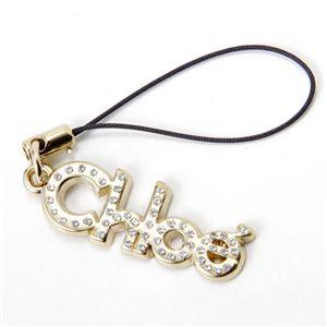 Chloe(クロエ) ロゴ ストラップ 3M0183-7A300/097・【B】Light Gold - 拡大画像