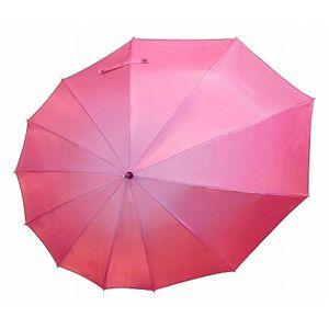 傘 雫 シャインレッド (雨傘・日傘)