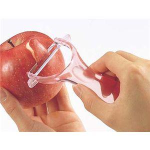 ピーラー リンゴ・ナシなぞってむくだけ 【10個セット】