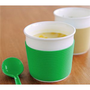 ReCUP スープカップ グリーン 【2個セット】