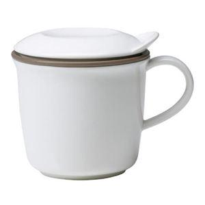 キントー BRIM マグカップ 300ml ホワイト - 拡大画像