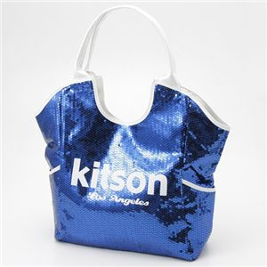 kitson(キットソン) SEQUIN トートバッグ 3154 NAVY/WHITE