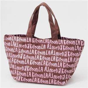 kitson(キットソン) ミニトートバッグ 3550 GRAFFITI BROWN