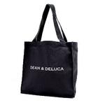 Dean & Deluca(ディーン&デルーカ) Newキャンバストート ブラック