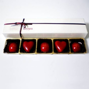 福岡VISAVIS(ヴィザヴィ) バレンタインチョコレート 5粒×3セット