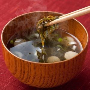 テレビで「くろめ」が紹介されました♪〜豊後水道の味わい〜「くろめ」のお吸い物 300食入り(30食×10袋)