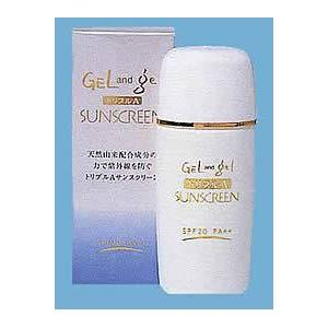 GEL and GEL サンスクリーン sunscreen 日焼け止め用乳液