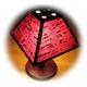 桜のあかり 電気スタンド 四角 A-3  - 縮小画像3
