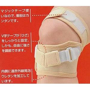 テーピングベルト:ひざ用 ダブルタイプ ベージュ Mの商品画像