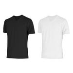 クールビズ 冷感シャツ CoolSpeed(クールスピード) 紳士用 半袖V首 Mサイズ ホワイト